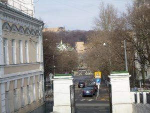 Вид на Берников переулок