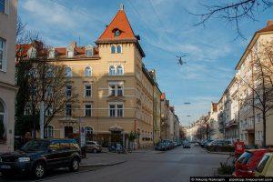 Дом в Мюнхене, где жил Ульянов-Майер